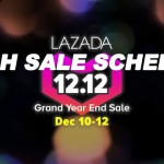 Lazada Flash Sale Schedule December 2018: 12.12 Grand Year End SALE!