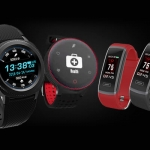 Left to right: Cherry Mobile Flare Watch, Cherry Mobile Flare Sport and Cherry Mobile Flare Active.