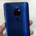 Huawei Mate 20 Pro with its triple Leica rear cameras.