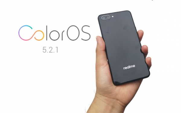 Realme C1 ColorOS 5.2.1 software update.