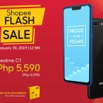 Realme C1 flash sale on Shopee.