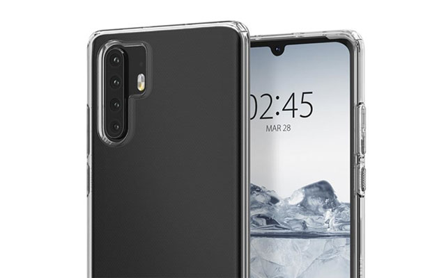 Leaked case render of the Huawei P30 Pro