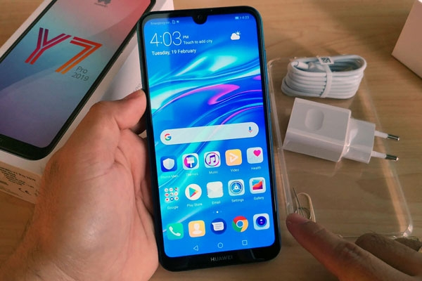 Hands on with the Huawei Y7 Pro 2019