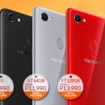 Discounted OPPO F5 and OPPO F7.