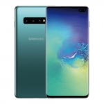 The Samsung Galaxy S10+ smartphone.