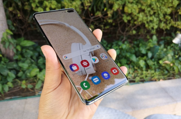 Hands on with the Samsung Galaxy S10+
