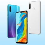 The Huawei P30 Lite comes in three color choices.
