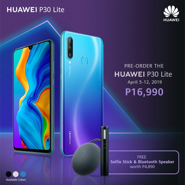 Official price of Huawei P30 Lite.