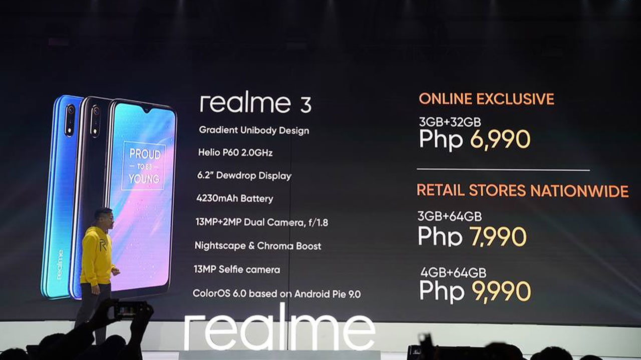 Here U2019s How  When And Where To Buy The Realme 3 Smartphone