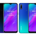 Meet the Realme 3 smartphone in dynamic black and radiant blue colors!