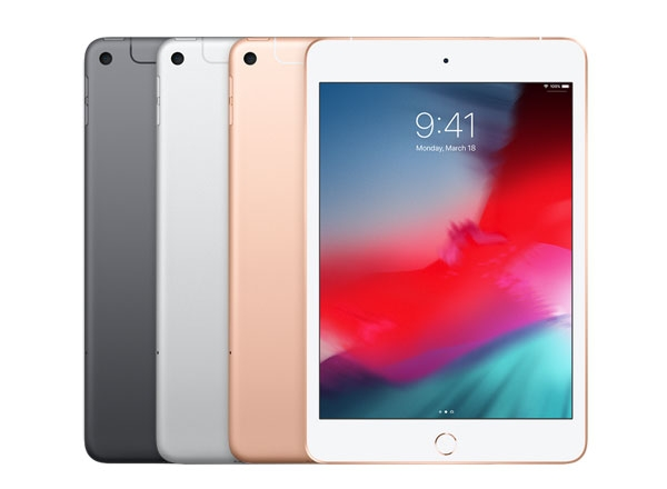 iPad Mini 2019 color choices.