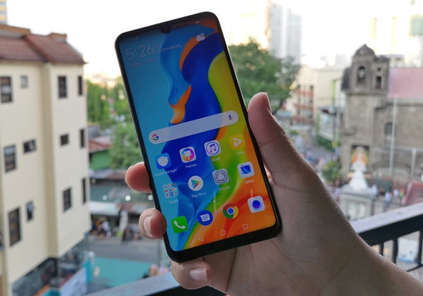 The Huawei P30 Lite runs on EMUI 9 software which is based on Android 9 Pie.
