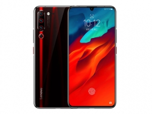 The Lenovo Z6 Pro smartphone in black