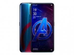 The OPPO F11 Pro Marvel's Avengers Limited Edition smartphone.