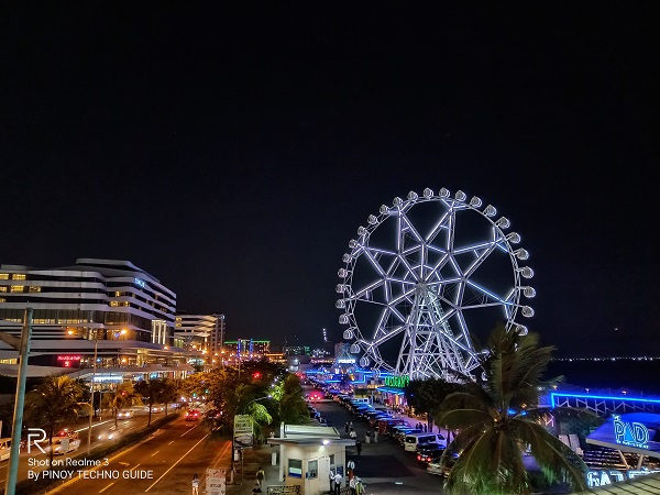 "The ""MOA Eye"" captured by the Realme 3 using Nightscape mode."