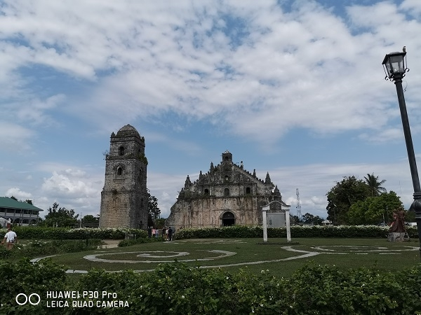Paoay Church by Huawei P30 Pro (Normal, 1x zoom).
