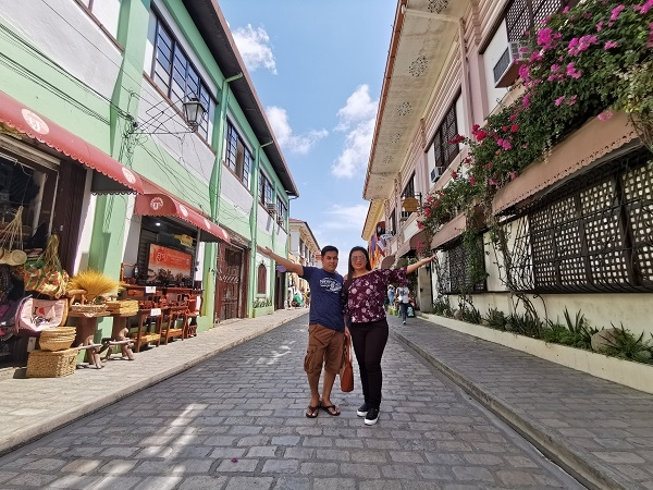 Calle Crisologo by Huawei P30 Pro (Ultra-wide).