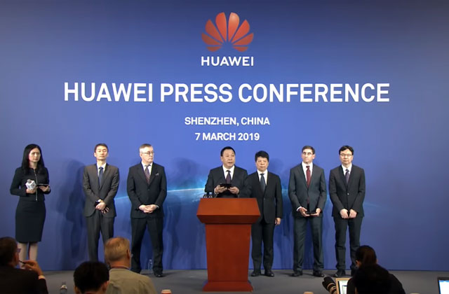 Huawei Press Conference.