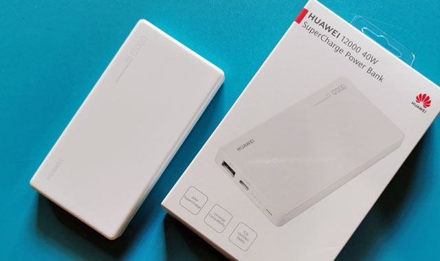 Let's test the Huawei 12000 40W SuperCharge Power Bank!
