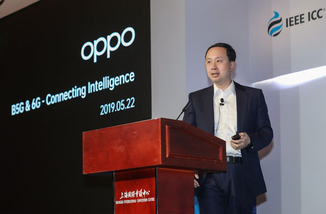 Henry Tang, OPPO Director of Standards Research and Chief 5G Scientist at IEEE ICC.