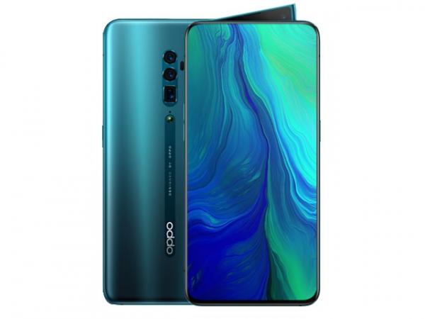 The OPPO Reno 10x Zoom smartphone.