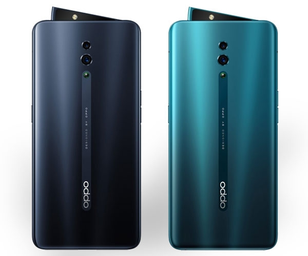OPPO Reno color options.