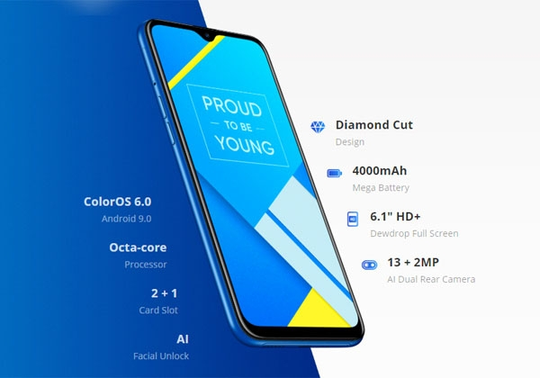Realme C2 features