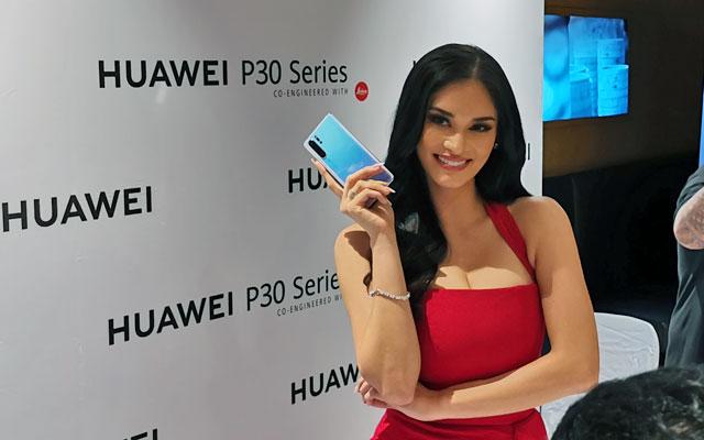 Huawei P30 Series Pia Wurtzbach