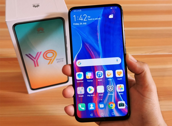 Huawei Y9 Prime 2019 hands-on.