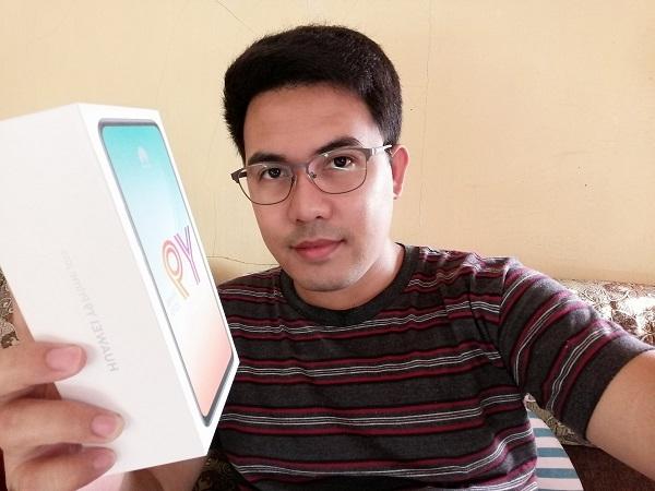 Huawei Y9 Prime 2019 sample selfie.