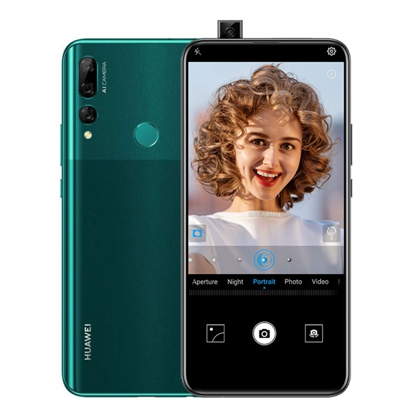 Huawei Y9 Prime 2019 with selfie camera pop-up