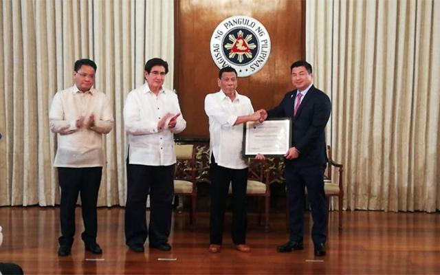 Mislatel receives certificate public convenience