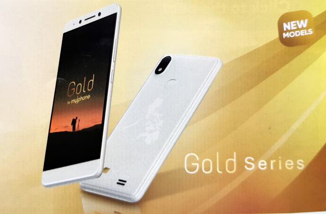 MyPhone Gold Series