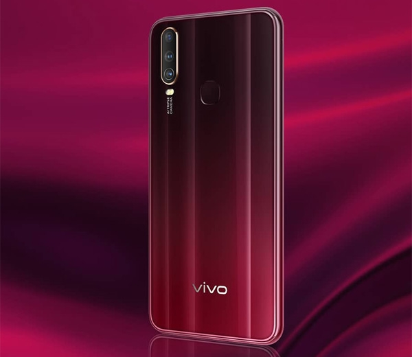 Vivo Y12 Burgundy Red