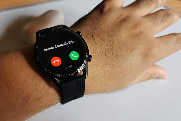 Bluetooth Calling on the Huawei Watch GT 2.