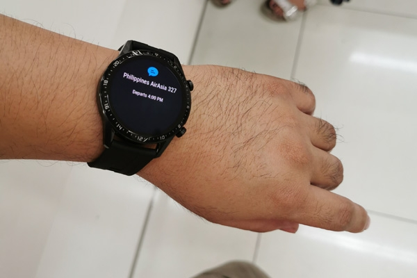 Notifications on the Huawei Watch GT 2.