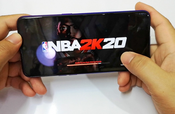 NBA 2K20 on Realme 5 Pro