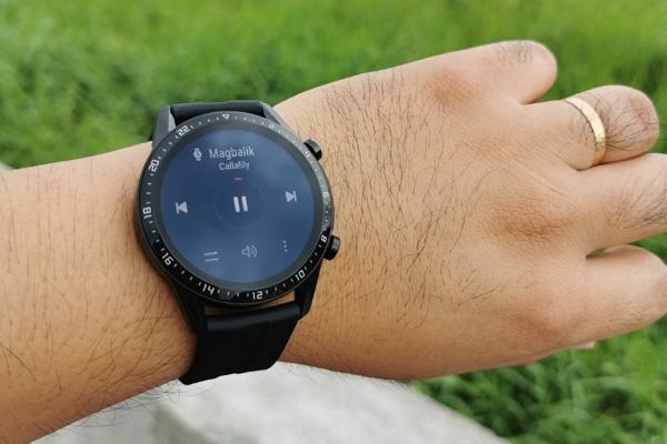 Playing Music on Huawei Watch GT 2