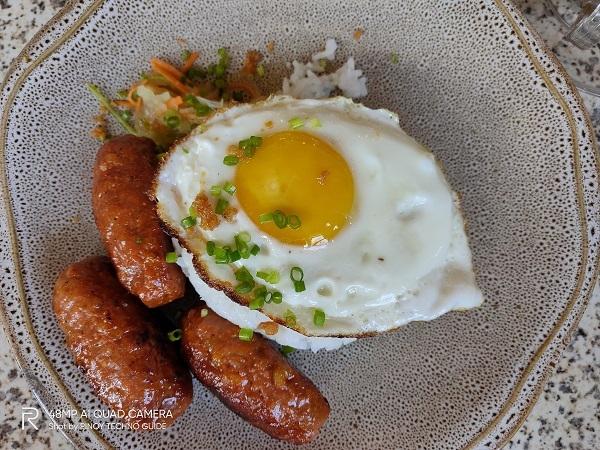 Breakfast by Realme 5 Pro.