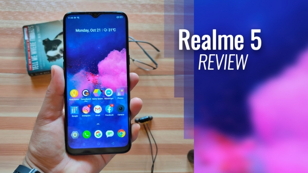 The Realme 5 gets a thumbs up from me.