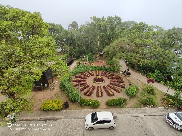 Garden in ultra-wide and chroma boost by Realme XT