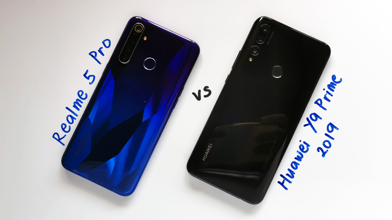 Huawei Y9 Prime 2019 Vs Realme 5 Pro: An In-depth Hands-on