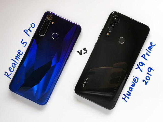 Realme 5 Pro vs Huawei Y9 Prime 2019