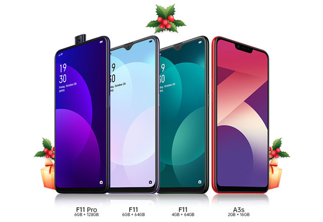 OPPO smartphones with big discounts on 12.12 Sale.