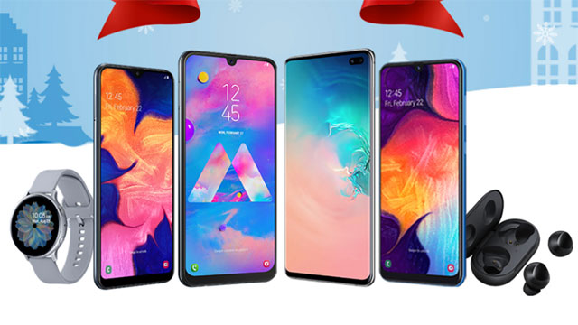 Discounted Samsung products at Lazada 12.12 Sale 2019.