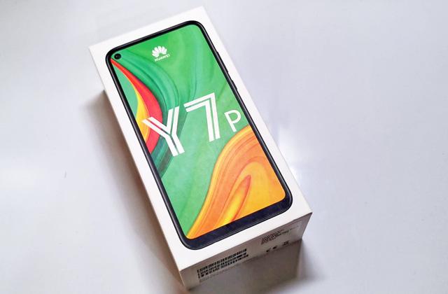 Huawei Y7p box