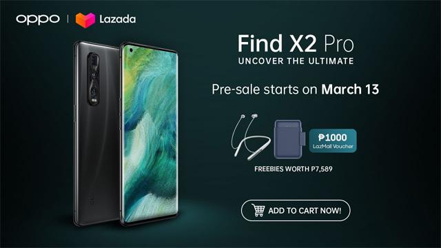OPPO Find X2 Pro pre-order