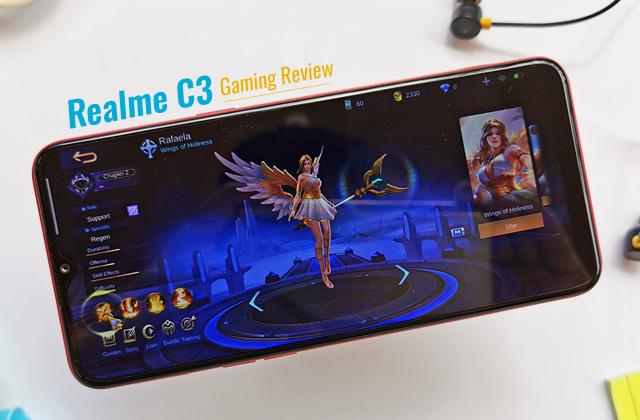 Realme C3 Gaming Review