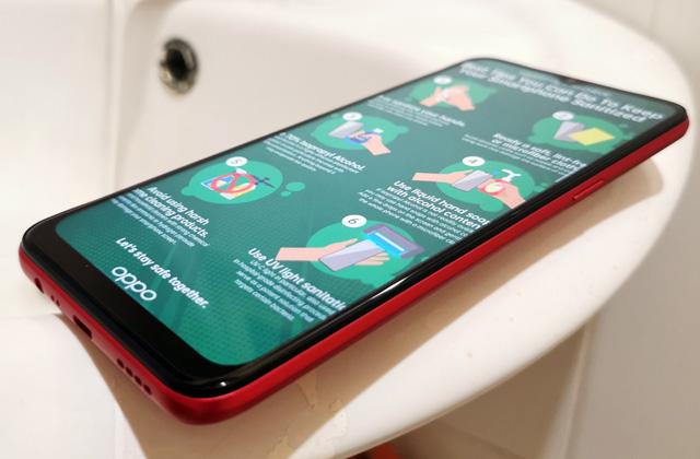 Sanitizing Smartphones