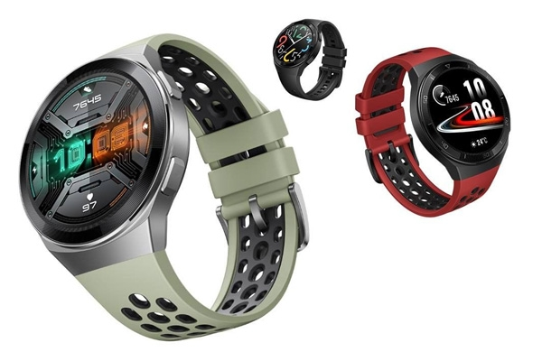 Huawei Watch GT 2e color options.